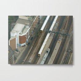 Milestone Photos Transport Metal Print