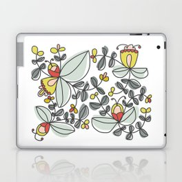 Watercolor Floral Laptop & iPad Skin