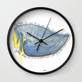 My hair Wall Clock
