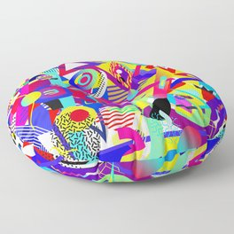 Bomb of Color Floor Pillow