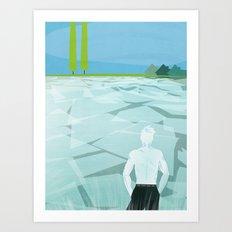 Ice Ice Bobby Art Print