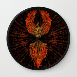 Phoenix Tree of Life  Wall Clock