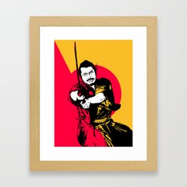 Keep Ronin Framed Art Print