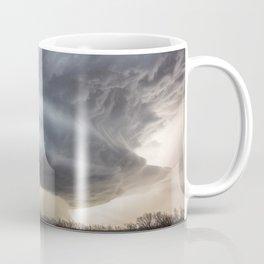 Attitude - Massive Storm Rumbles Over Plains of Texas Panhandle Coffee Mug