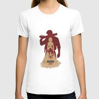 bioshock infinite T-shirts featuring Bioshock Infinite - Booker and Elizabeth by Art of Peach