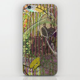 A Strict Code for Mourning Flowers (1) iPhone Skin