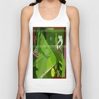 pool Tank Tops featuring Pool by Robin Curtiss