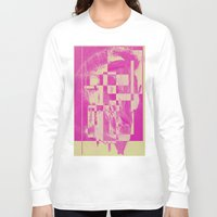 pop art Long Sleeve T-shirts featuring Pop by MonsterBrown