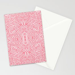 Radiate (Salmon) Stationery Cards
