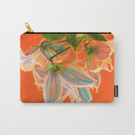 Purple Clematis(2) Carry-All Pouch