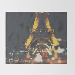 La Ville-Lumière ... Throw Blanket