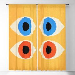 Eyes | Bauhaus III Blackout Curtain