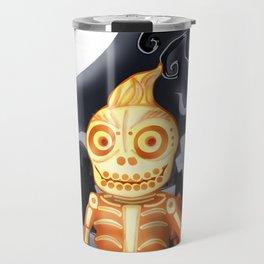 Skelton the Chubby skeleton Travel Mug