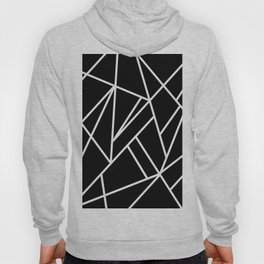 Classic Black White Geo #1 #geometric #decor #art #society6 Hoody