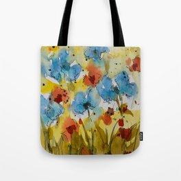 Flowers (watercolor) Tote Bag