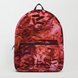 Pantone Poppy Confetti Backpack