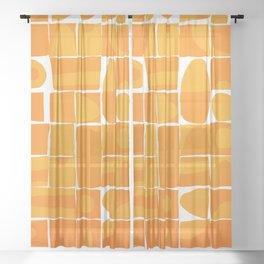 Modern Disarray Sheer Curtain
