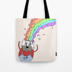 RainbowHead Tote Bag