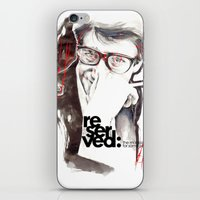 ysl iPhone & iPod Skins featuring YSL by Mitja Bokun