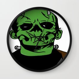 Frankenstein the Momster Wall Clock