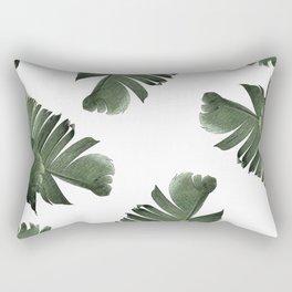 Banana Leaf Frenzy #society6 Rectangular Pillow