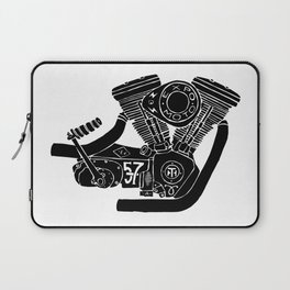 cafe racer - motorcycle engine Laptop Sleeve