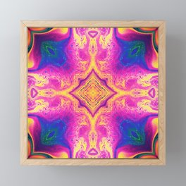 Psychedelic Three Framed Mini Art Print