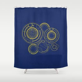 The Doctor's Past Shower Curtain