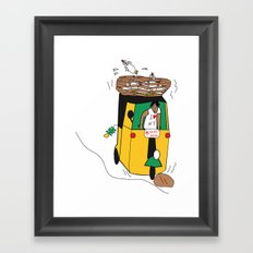 SOLD! Auto India Framed Art Print