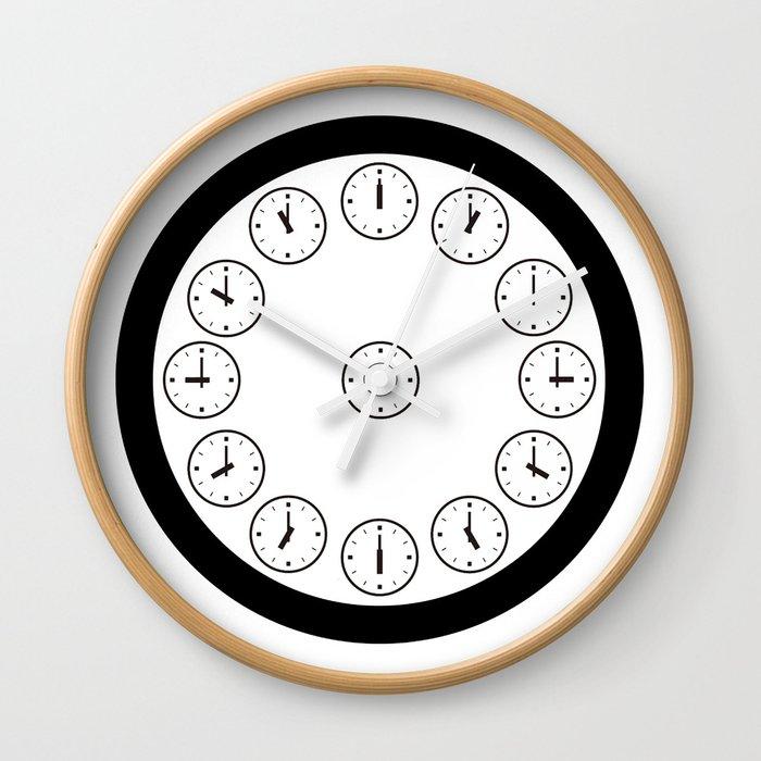 Clockety Clock Wall Clock