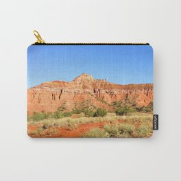 Capitol Rock, Palo Duro Canyon, Texas 2013 Carry-All Pouch