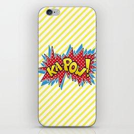 Ka-Pow iPhone Skin