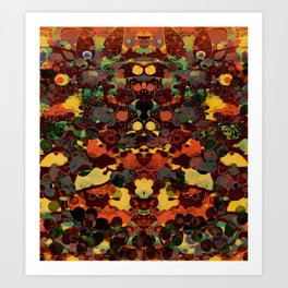 Bountiful- Psychedelic Fantasy Art Print