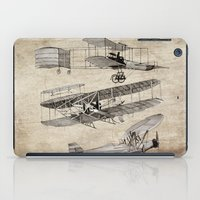 airplanes iPad Cases featuring airplanes by Кaterina Кalinich