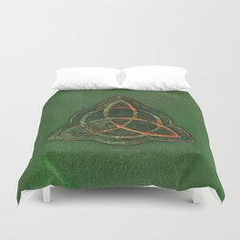 Book of Shadows Duvet Cover