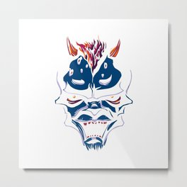 Blue Demon Metal Print