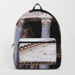 The Beautiful Pantheon of Rome, Italy Backpack