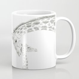 Reticulated Giraffes, Camelopardis Reticulata Coffee Mug