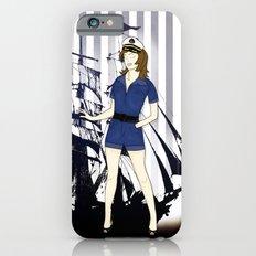 Navy Girl iPhone 6s Slim Case