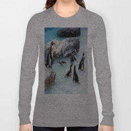 Penguins. Long Sleeve T-shirt