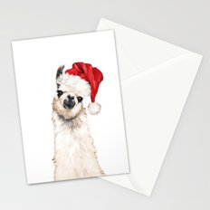 Christmas Llama Stationery Cards