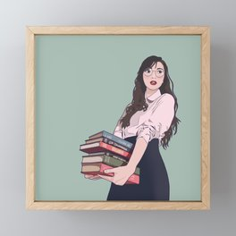Distraction Framed Mini Art Print