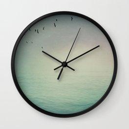 Emptiness In Between Wall Clock