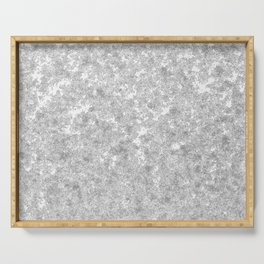 Snow patterns Serving Tray