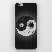 moonrise iPhone & iPod Skins featuring Moonrise by Daniac Design
