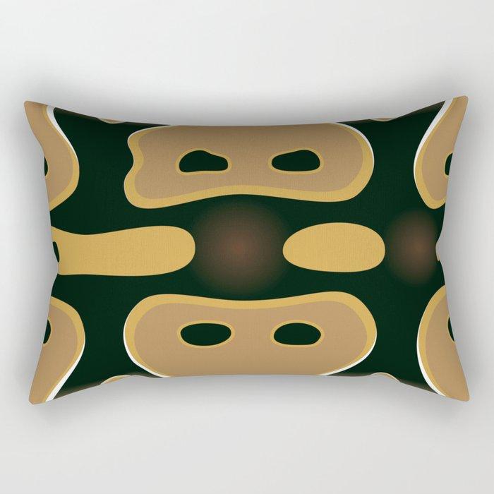 Ball Python Rectangular Pillow