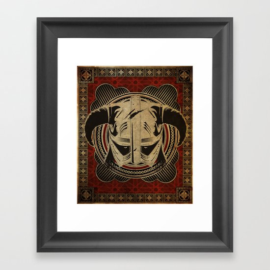 Dragonborn Framed Art Print