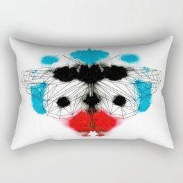 Rorschach Butterfly 3 Rectangular Pillow