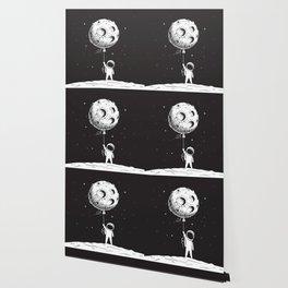 Fly Moon Wallpaper