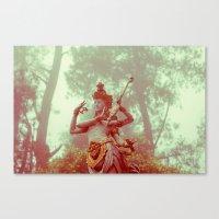 goddess Canvas Prints featuring Goddess by Farkas B. Szabina